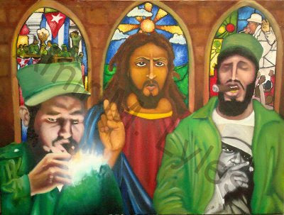Cubans with the Jesus Peace
