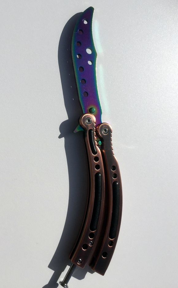 CS:GO Butterfly Fade Letteropener