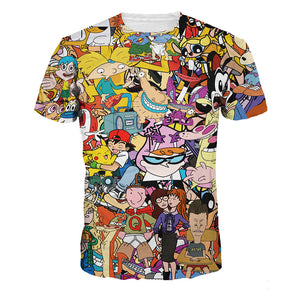 Cartoon Nostalgia T-shirt