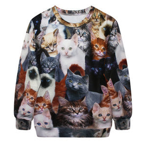 Long Sleeved Cat Shirt