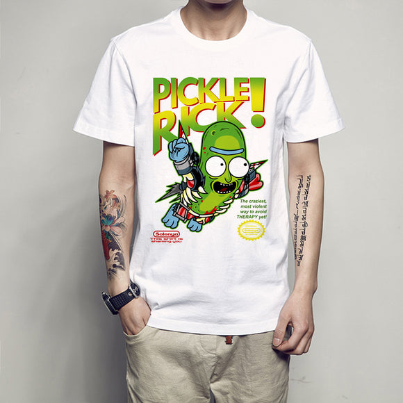 Pickle Rick SNES Parody T-shirt