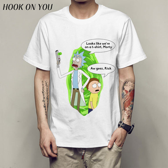 Rick&Morty Accidentally on a T-shirt