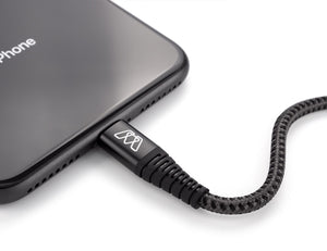 MOS Strike Lightning Cable: Our Strongest Cable with a Lifetime Warranty