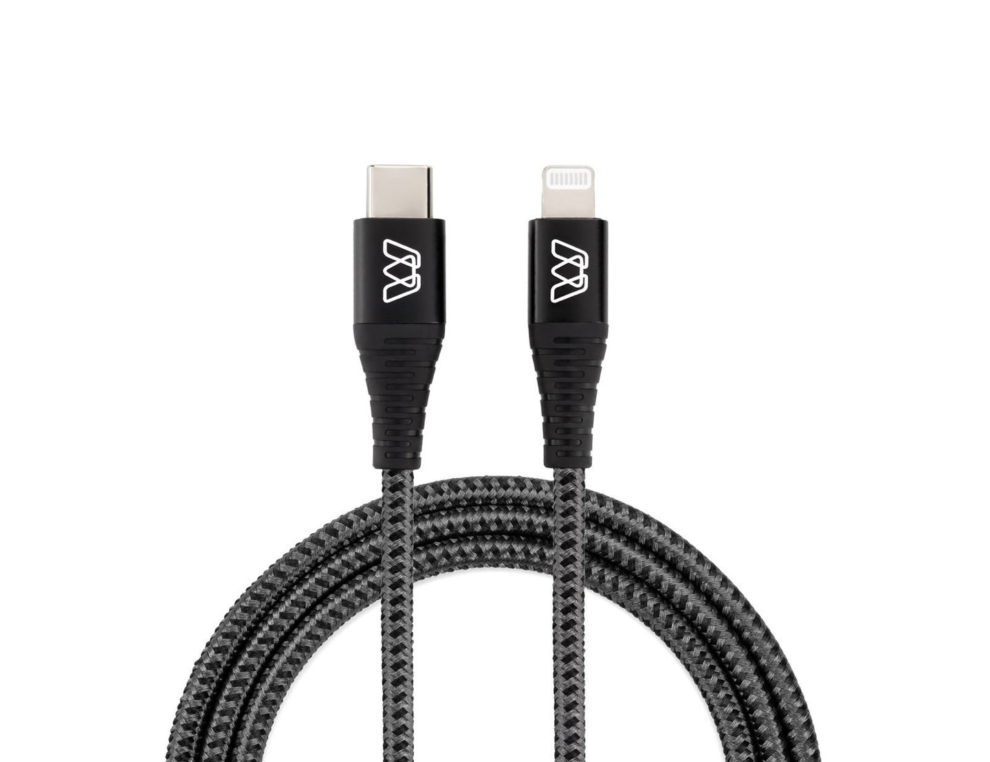 MOS Strike USB-C to Lightning Fast Charge Cable for iPhone or iPad
