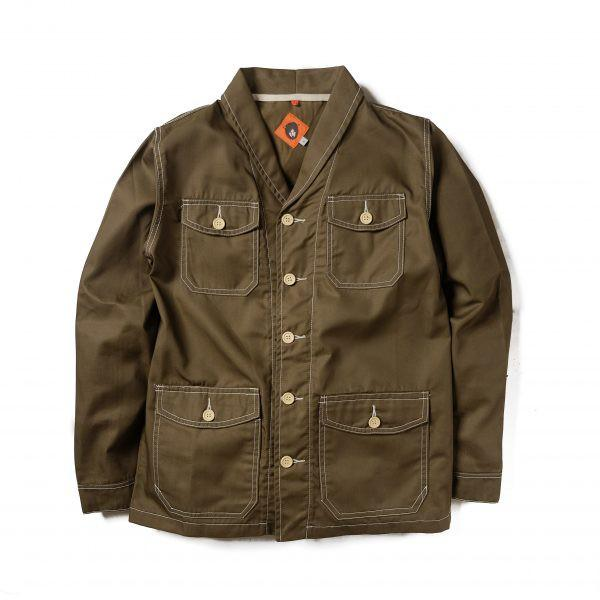 Paca Olive Cotton Jacket