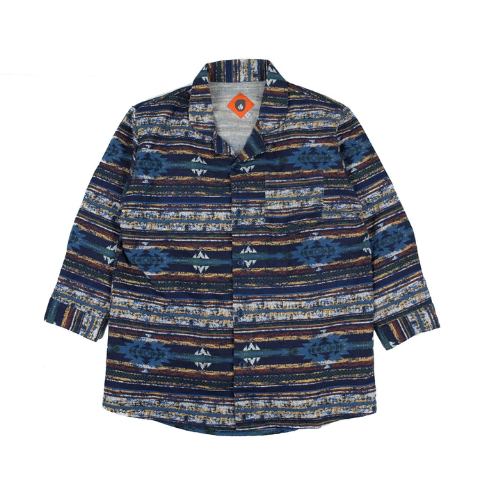 Navajo Blue Travel Shirt