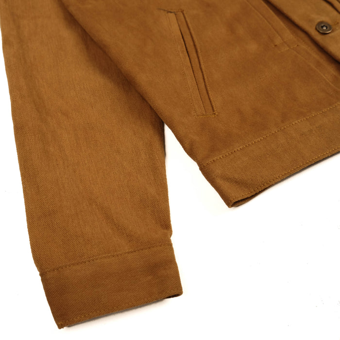 Mikata Brown Twill Jacket