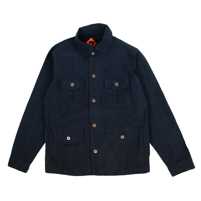 Finca Navy Canvas Jacket