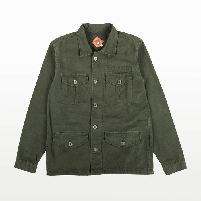 Finca Olive Canvas Jacket