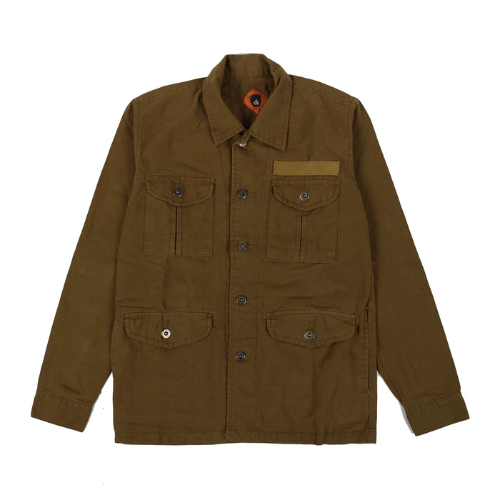 Finca Brown Canvas Jacket