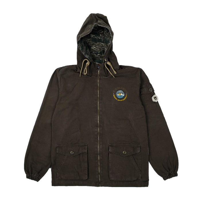 Scouty Coffee Canvas Jacket