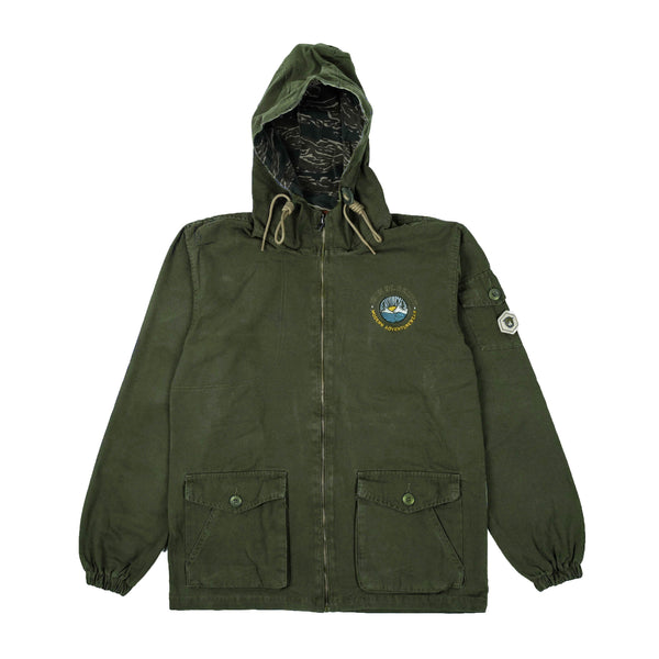 Scouty Olive Canvas Jacket