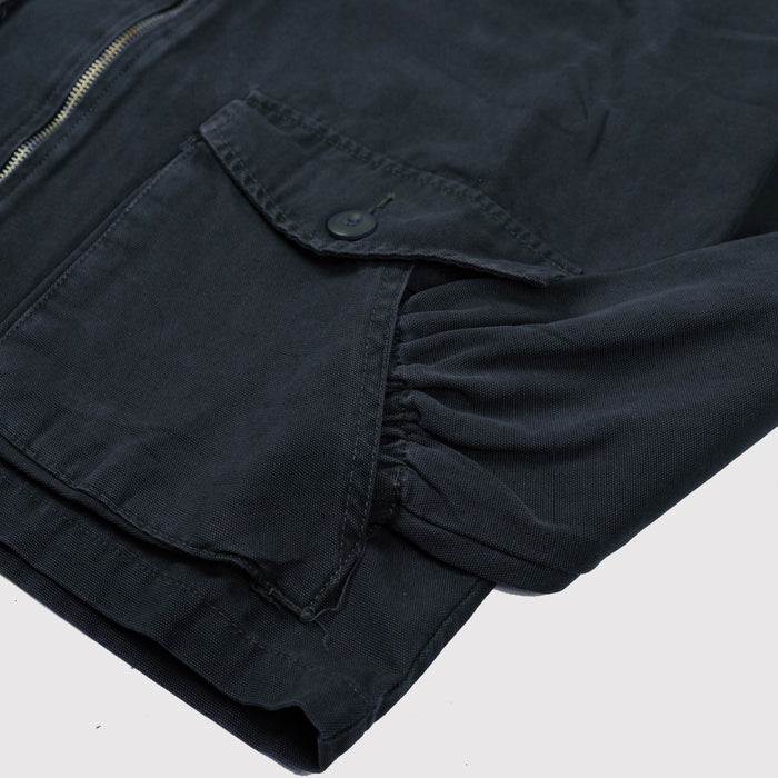 Scouty Navy Canvas Jacket