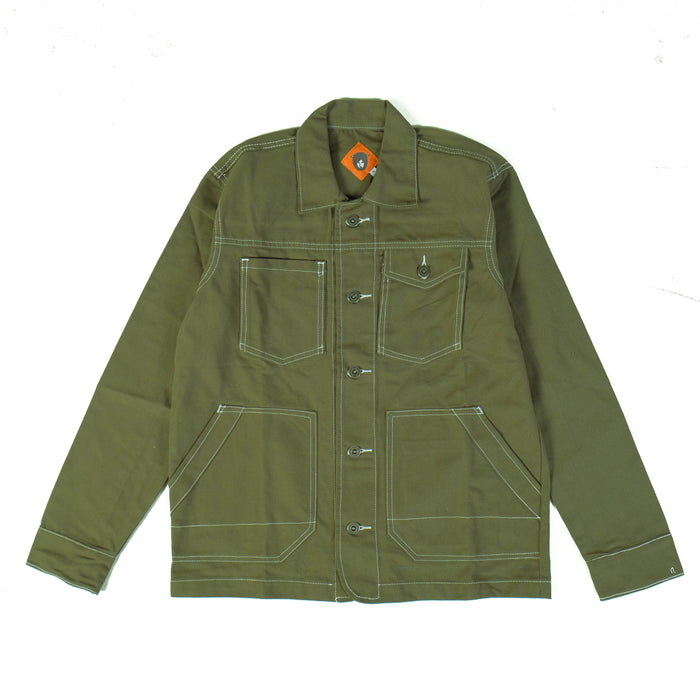 Varia Green Canvas Jacket