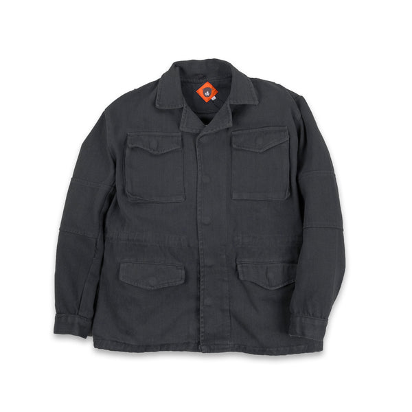 Mauld Black Twill Jacket