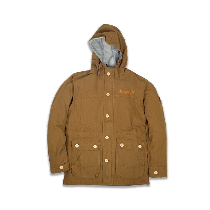 Reno Brown Canvas Parka