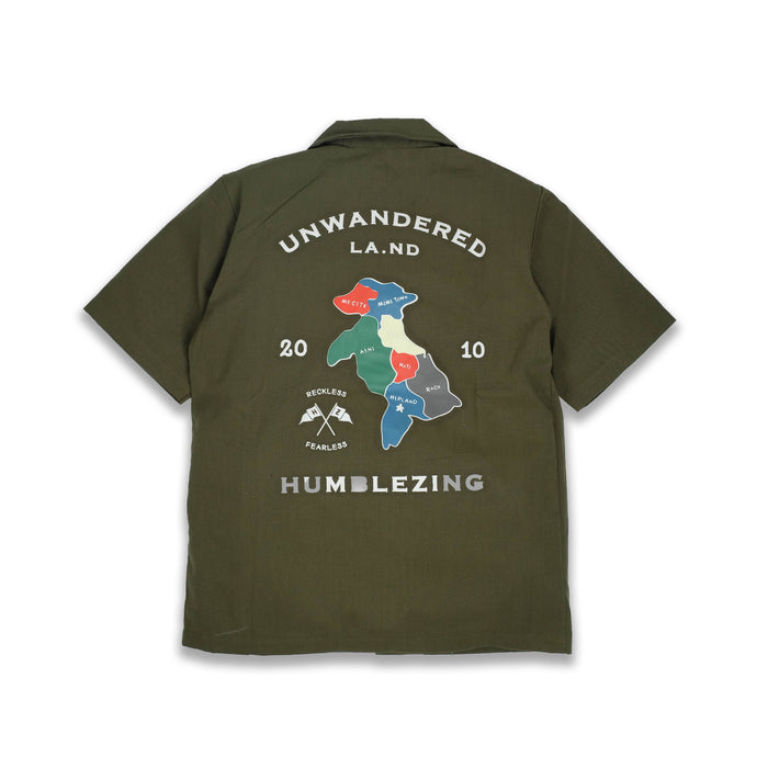 Unwandered Olive Shirt