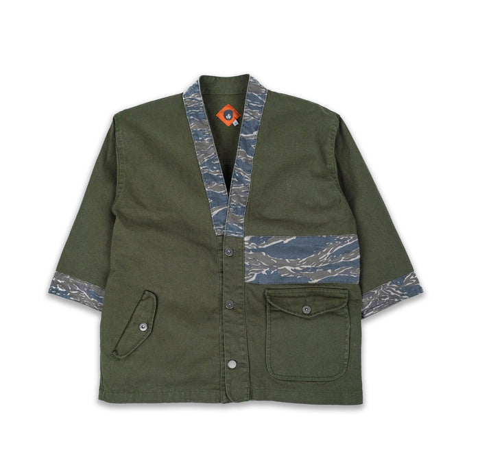 Rocco Olive Twill Jacket