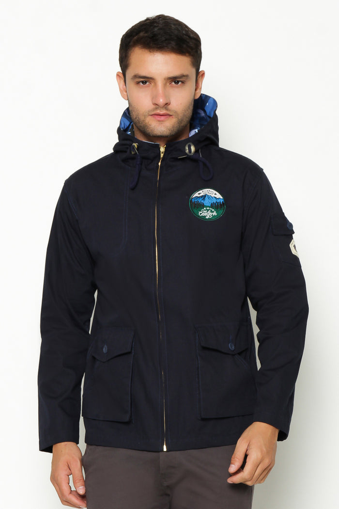 Scouty Navy Cotton Jacket