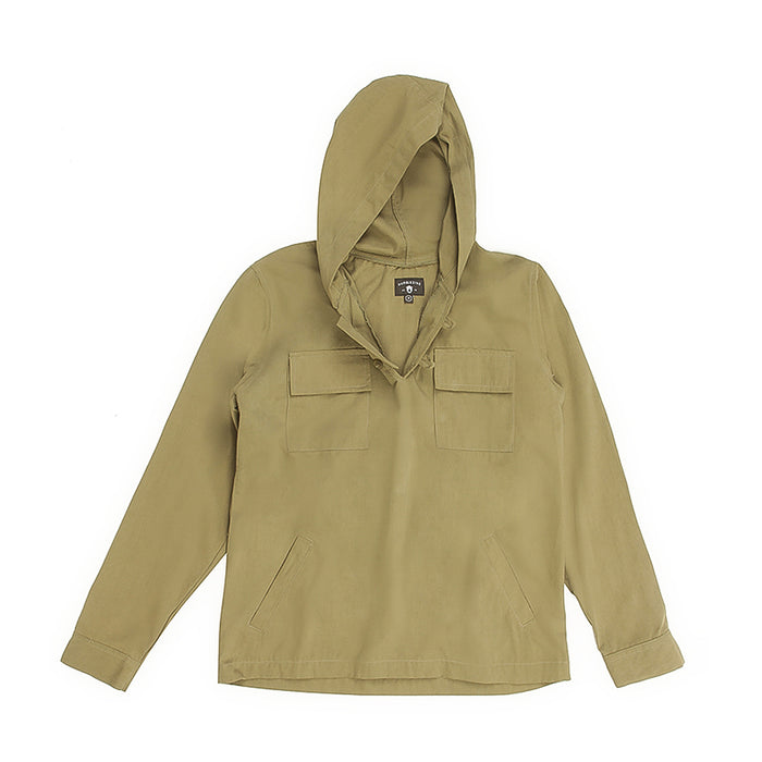 Klava Olive Cotton Anorak