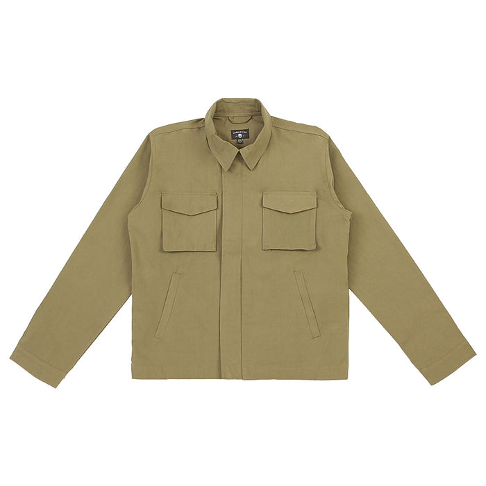 Vale Olive Canvas Jacket