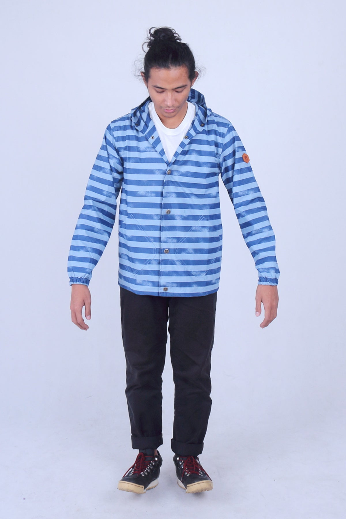 Myrtle Blue Cotton Jacket