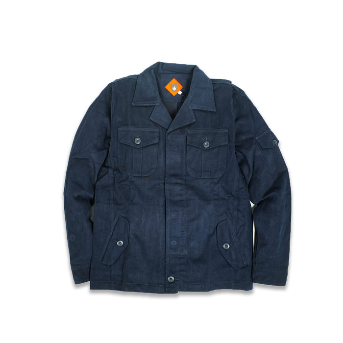 Wilbur Navy Twill Jacket