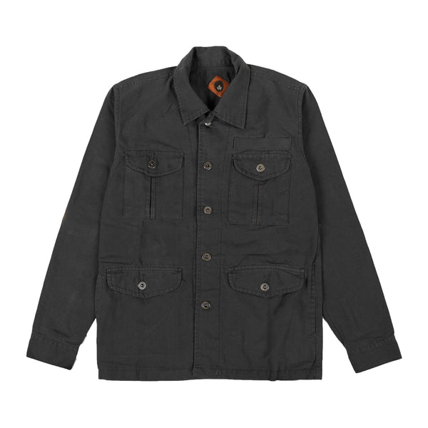Finca Black Canvas Jacket