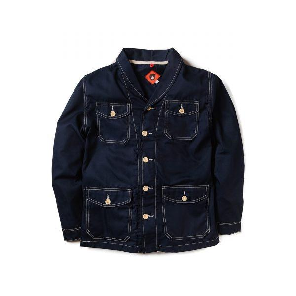 Paca Cotton Navy Jacket