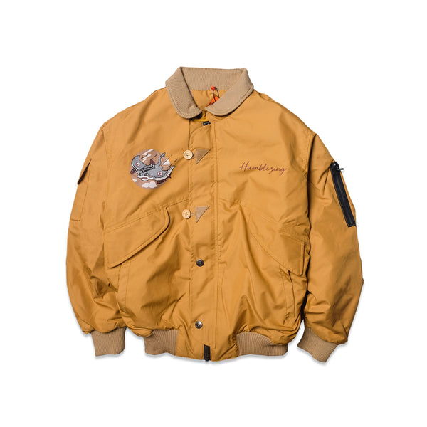 Manta Mustard Flying Jacket