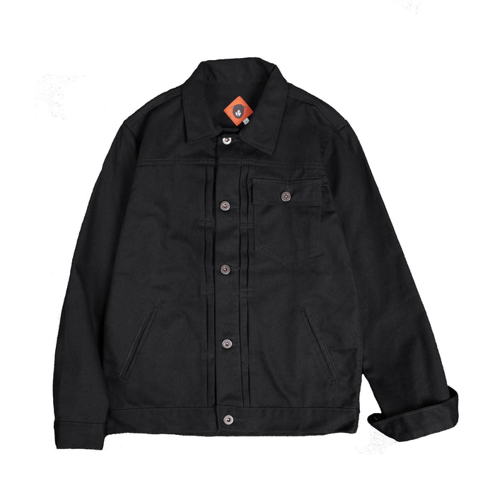 Mikata Black Twill Jacket