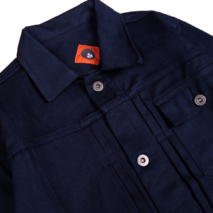 Mikata Navy Twill Jacket