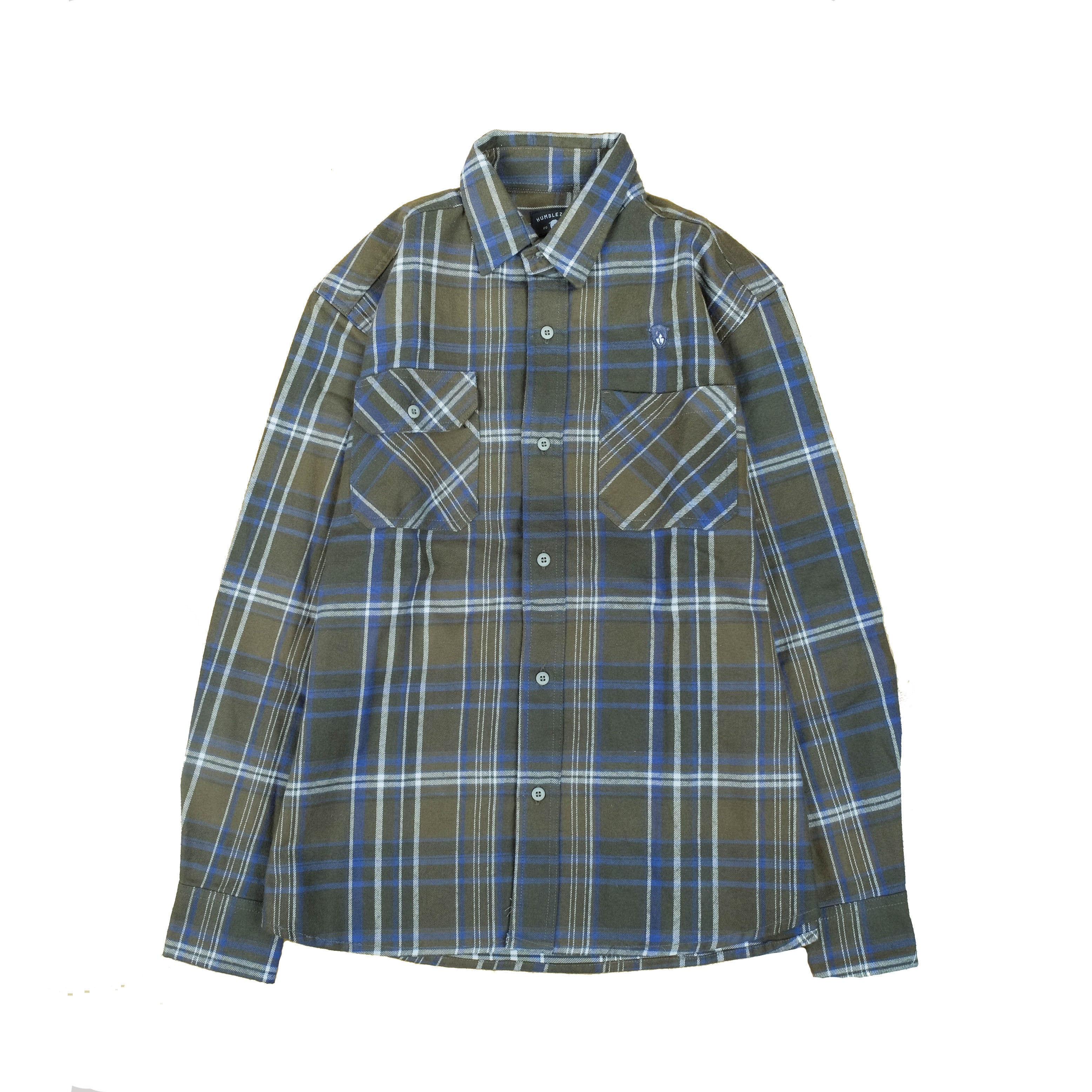 Oahu Forest Green Flannel