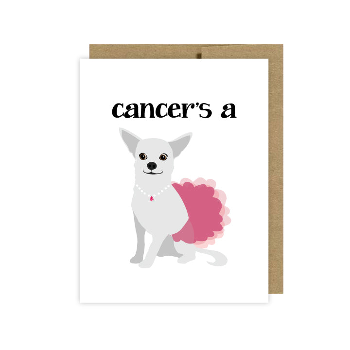 Cancer Support Card - U Lucky Girl