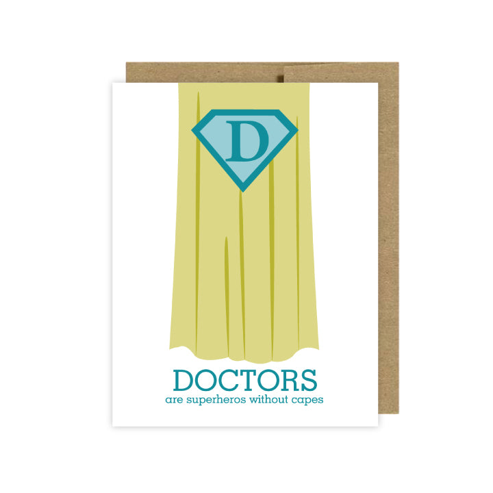 Doctor Thank You Card - U Lucky Girl