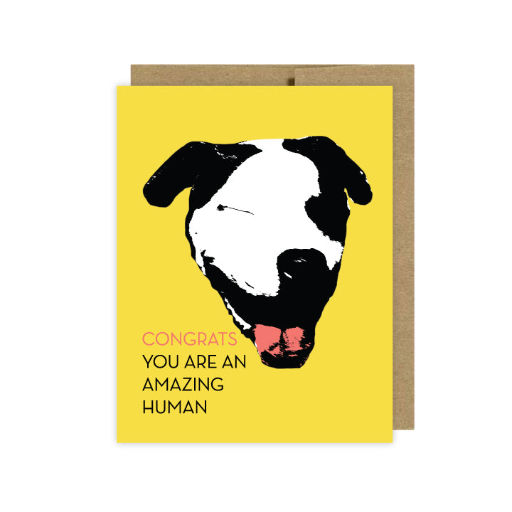 Dog Cards-Congrats-Thank You-Birthday & More - U Lucky Girl