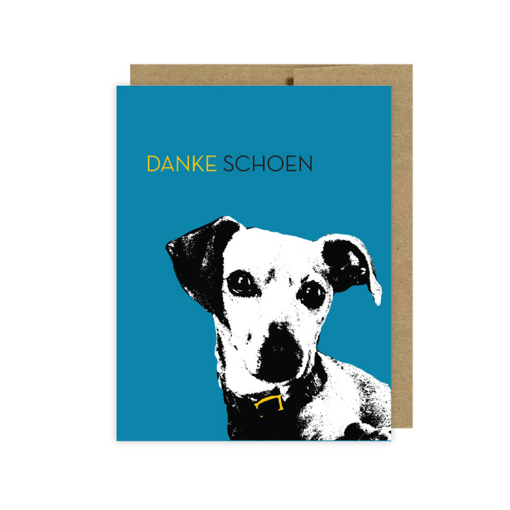 funny cards about dogs thank you danke schoen by u lucky girl