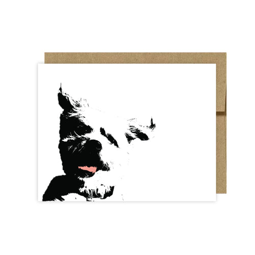 Dog Note Cards-All Breeds- U Lucky Girl