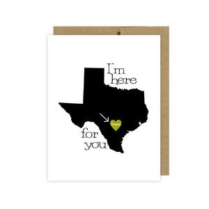 Here For You Texas Set of 10