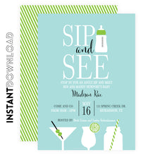 SIP and SEE Party Invitation