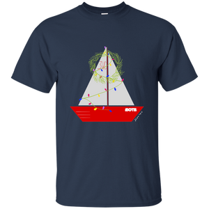 Christmas Sailboat - BOTB T-Shirt