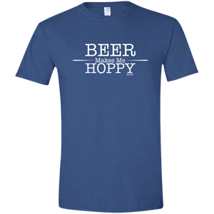 Beer Makes Me Hoppy Softstyle Tee