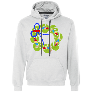 Sounds Fishy Wreath Fleece Sweatshirt