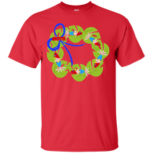 Sounds Fishy Wreath Cotton T-Shirt