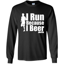I Run Long Sleeved Cotton T-Shirt