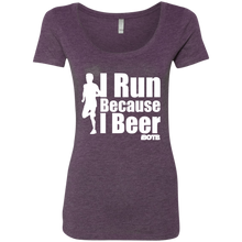 I Run Ladies' Scoop Neck Tee
