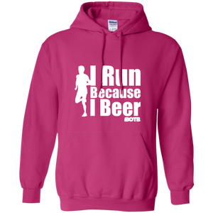 I Run Because I Beer Hoodie