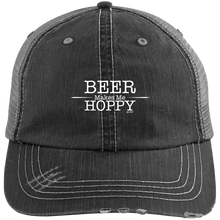 Beer Makes Me Hoppy Trucker Cap