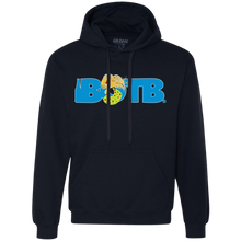 Blonde Mermaid Christmas BOTB Fleece Sweatshirt