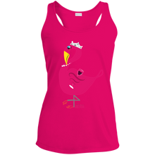Princess Flossie Ladies' Racerback Moisture Wicking Tank